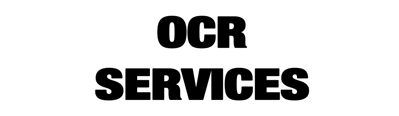 OCR Services New 1
