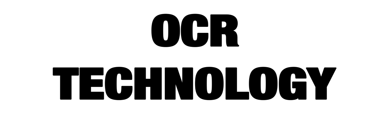 OCR Technology New 1